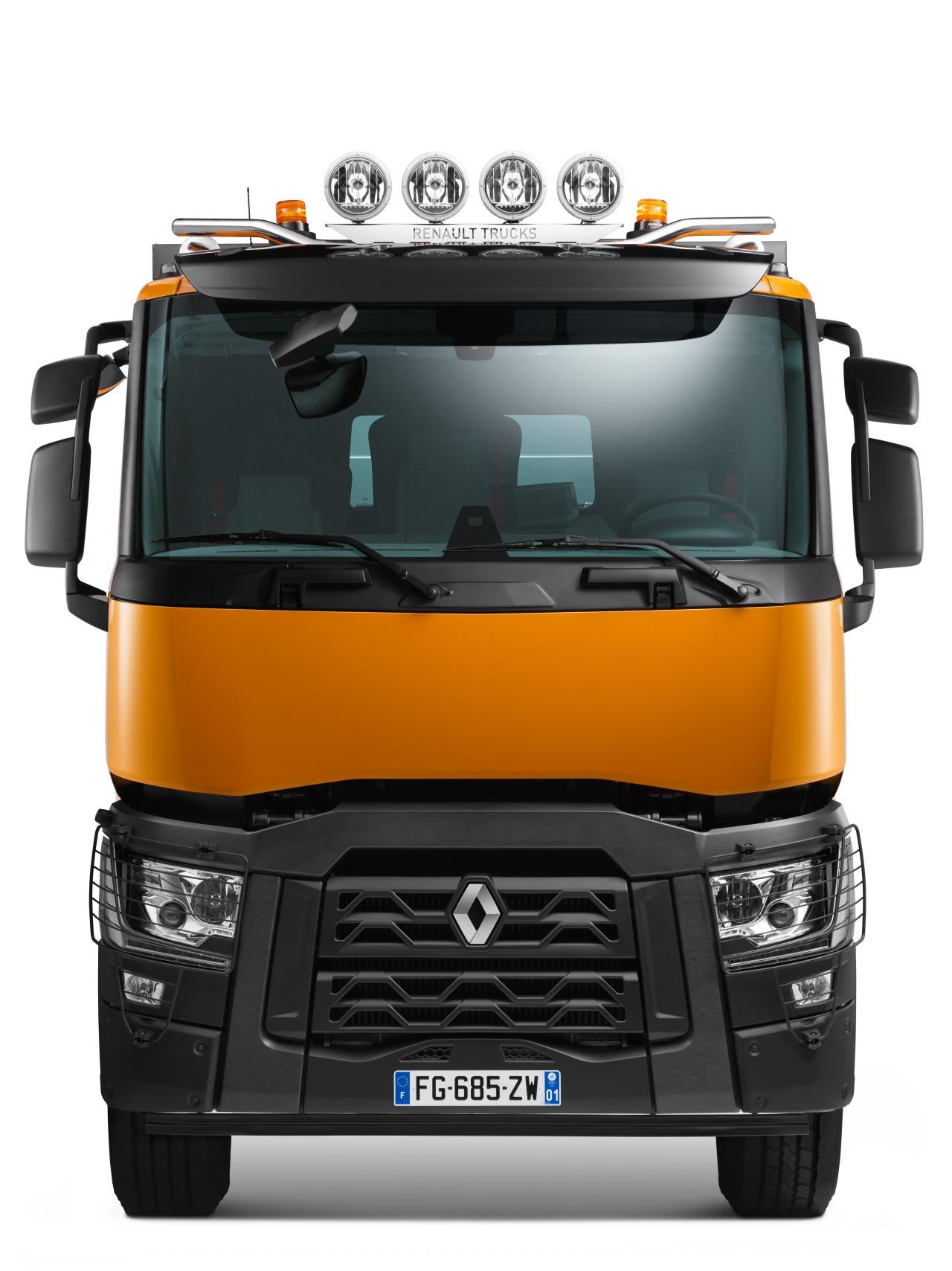 Renault C480 8x4 DC DSK OM
